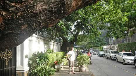Sonne in Bangkok