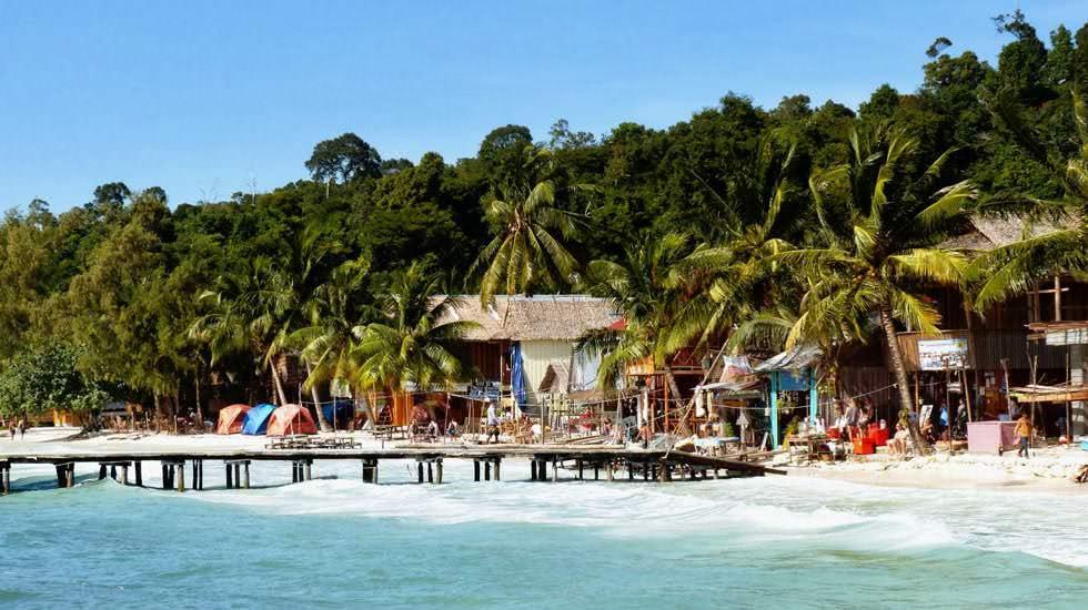 Der Strand von Ko Rong