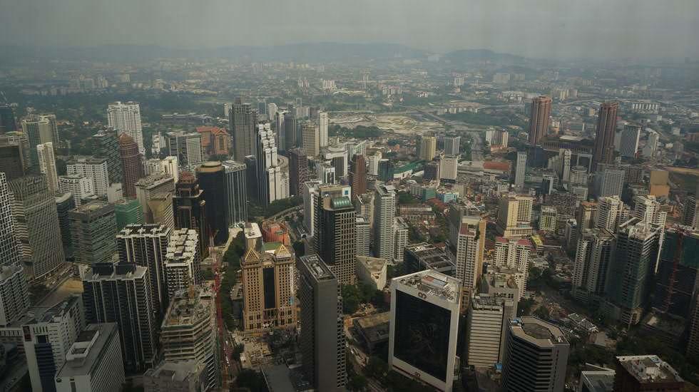 Kuala Lumpur von oben