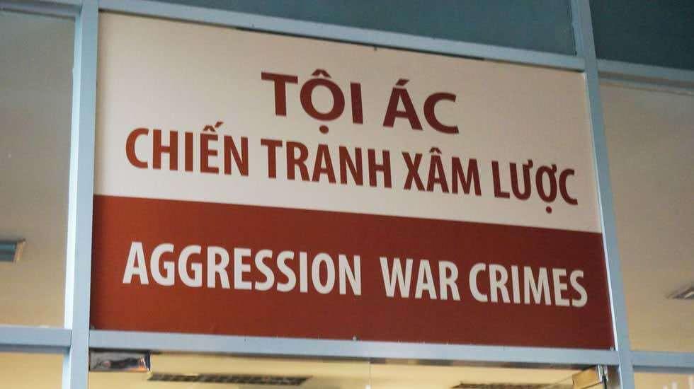 Schild in Saigon