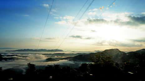 Sonnenaufgang in Vietnam