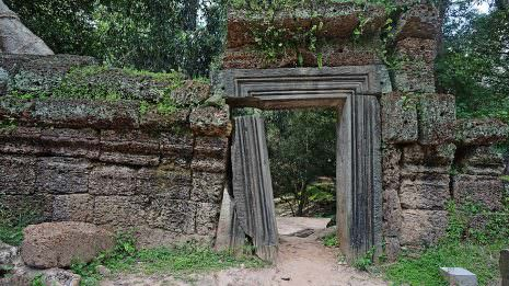 Eingang zum Tempel