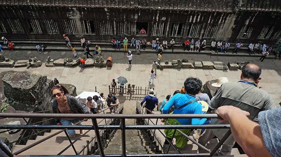 viele Touristen