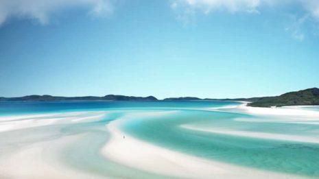 Weiß, weißer, Whitsundays