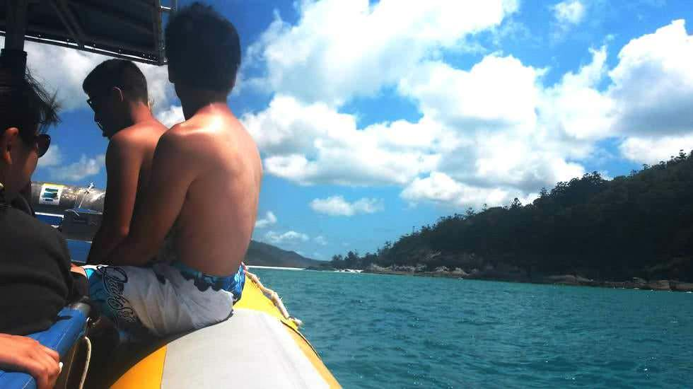Rafting-Boot