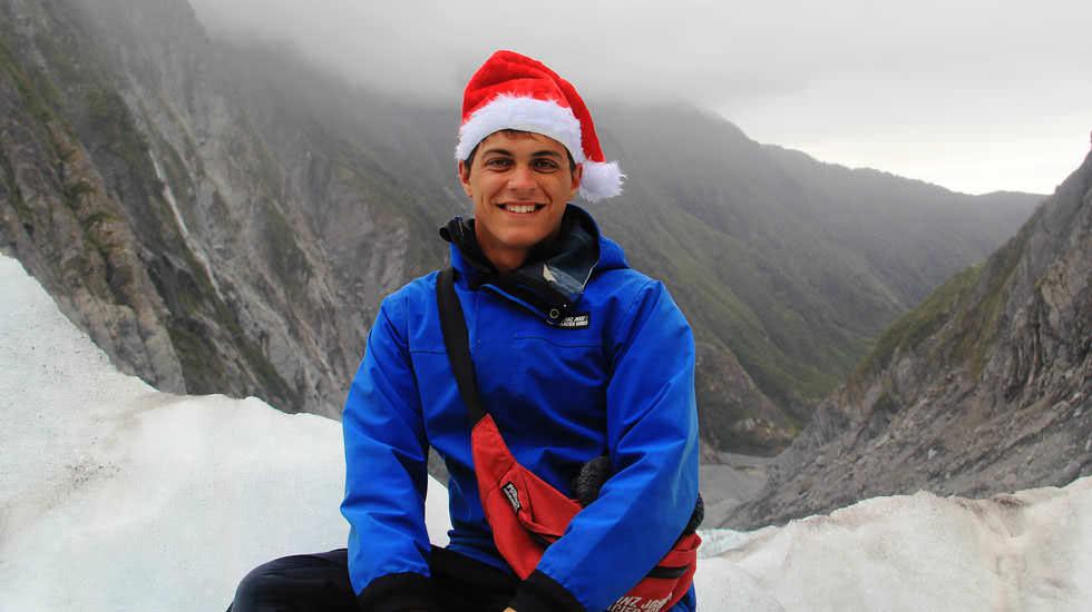 Weihnachten auf dem Franz Josef Gletscher