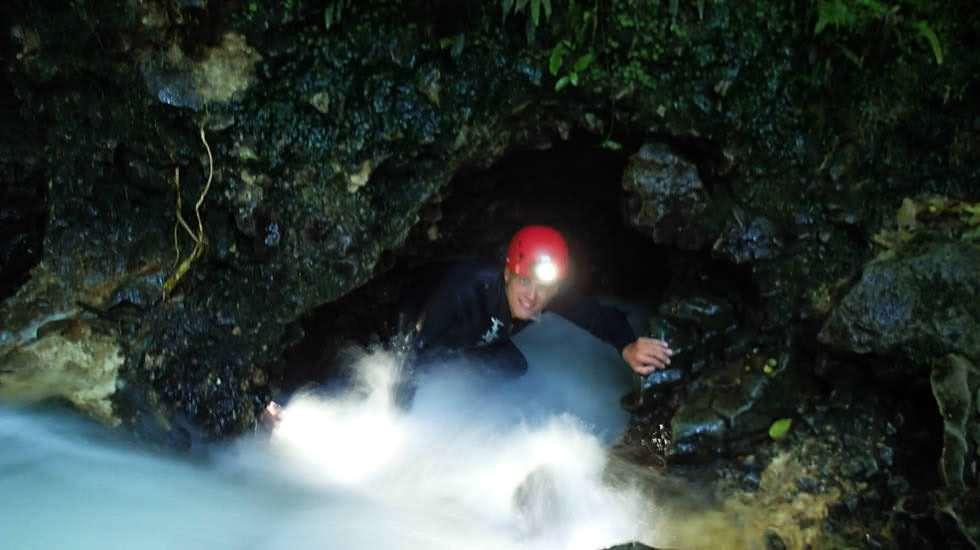 Ich in der Höhle