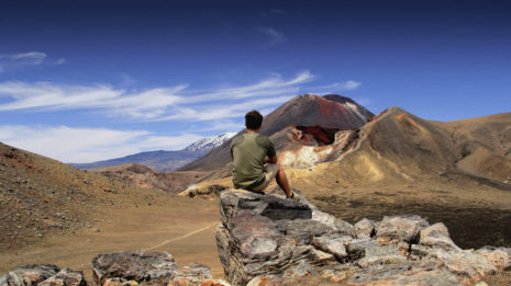 Tongariro: Auf dem Dach der Welt