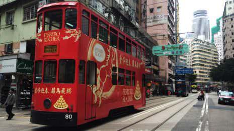 Hongkong Doppeldeckertram
