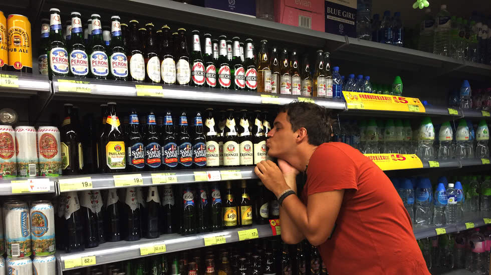 Deutsches Bier in Hongkong