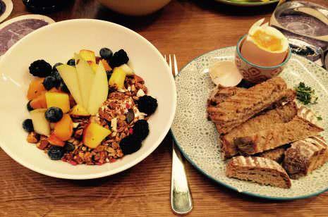 Frühstück in Wien