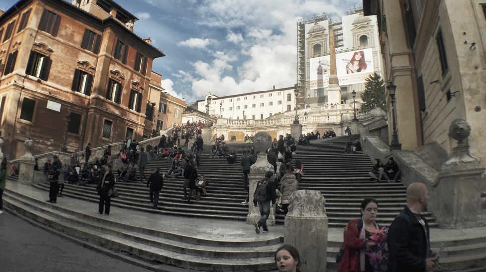 Die Spanische Treppe