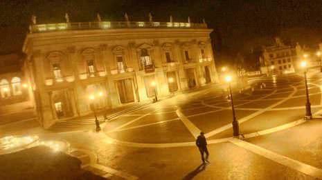 Rom bei Nacht…