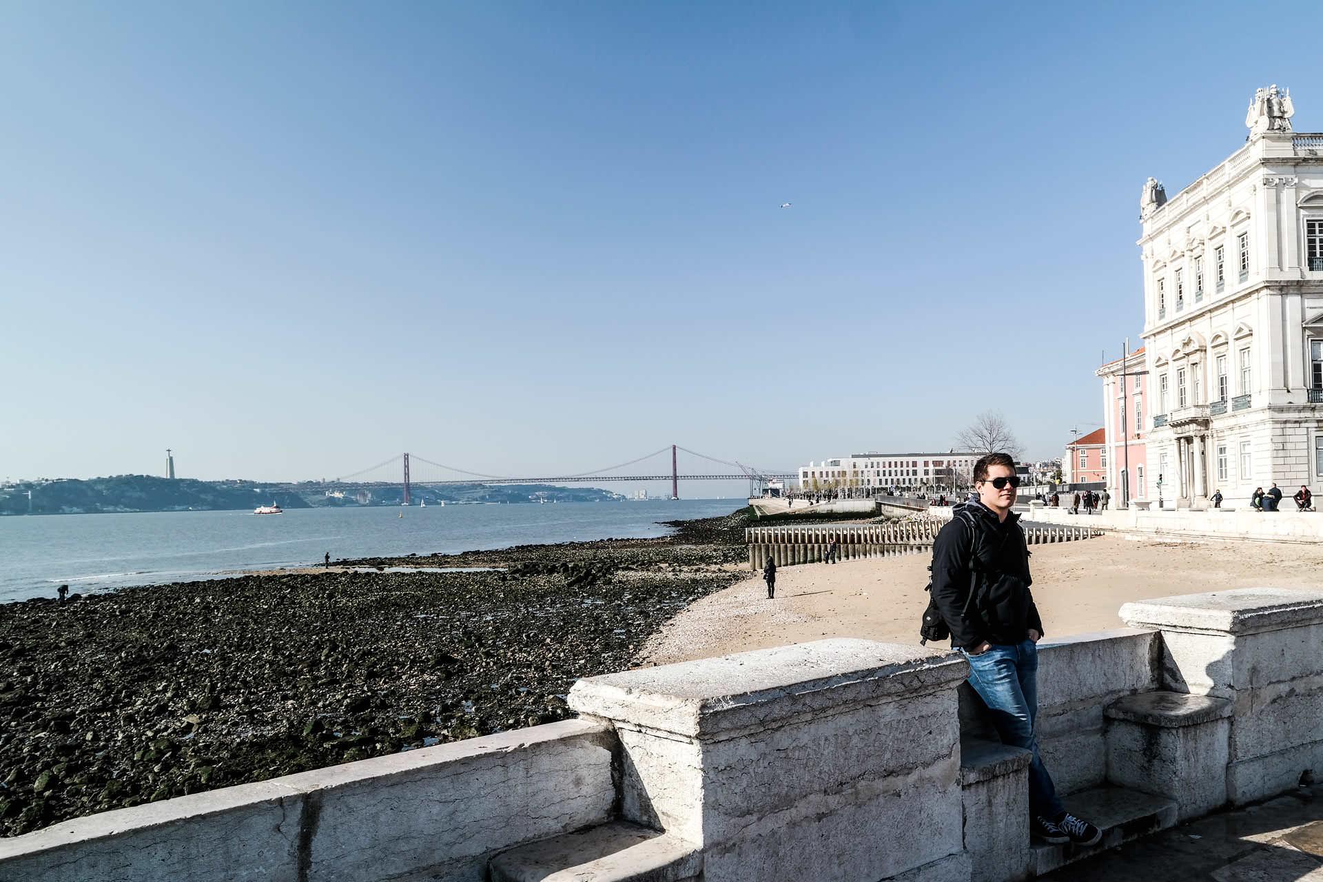 Lissabon Küste