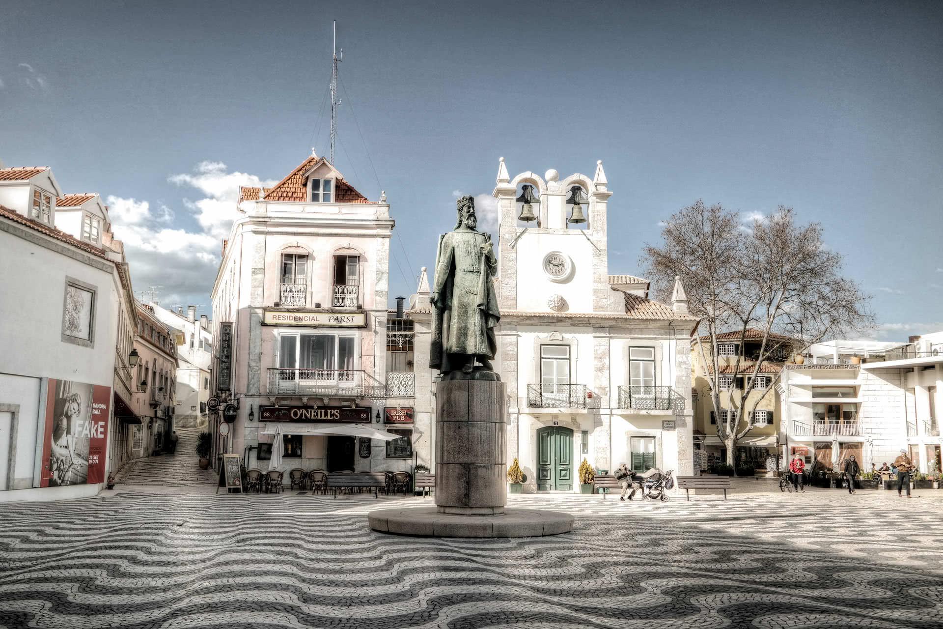 Cascais Lissabon Marktplatz