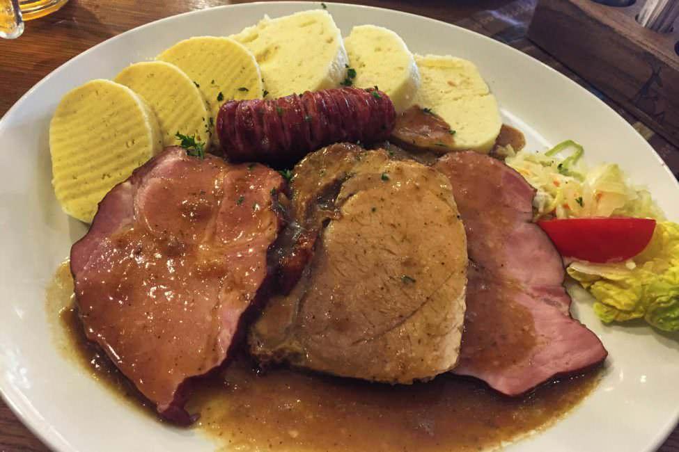 Prag Tschechien Essen Restaurant