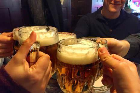 Prag Tschechien Bier