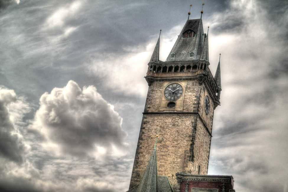 Prag Kirchturm
