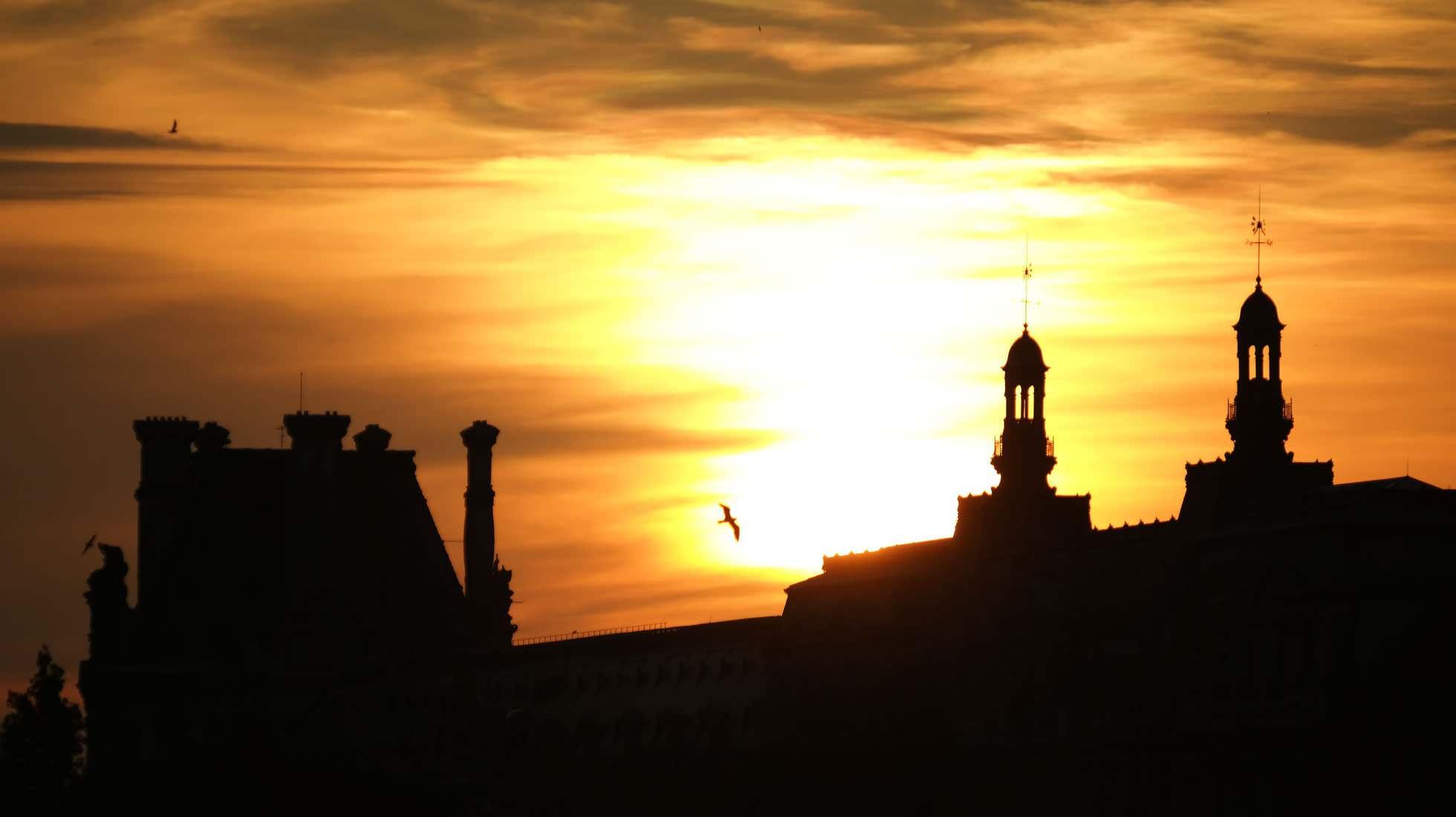 Sonnenuntergang Seine