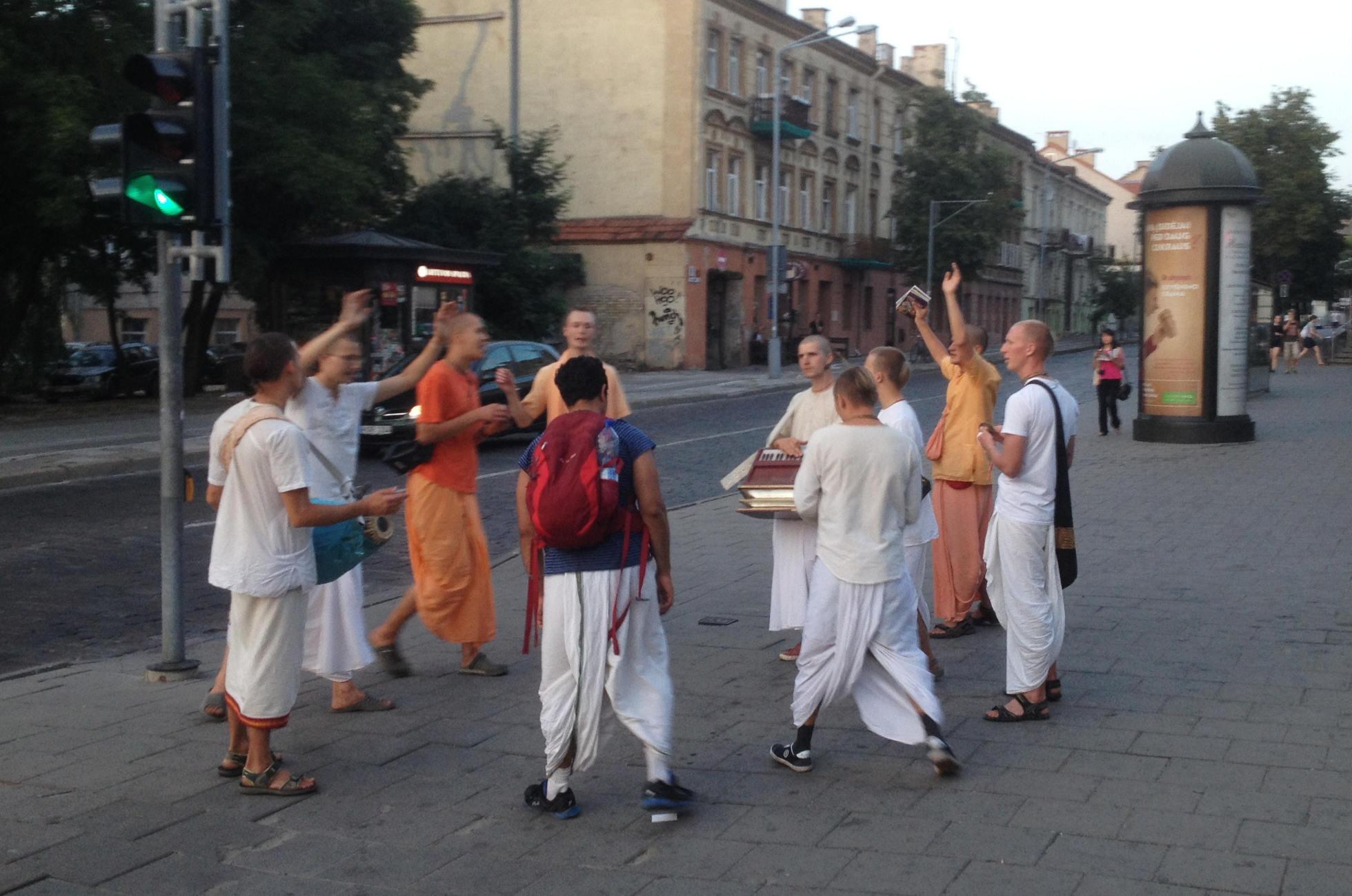 Hare-Krishna-Bewegung Vilnius