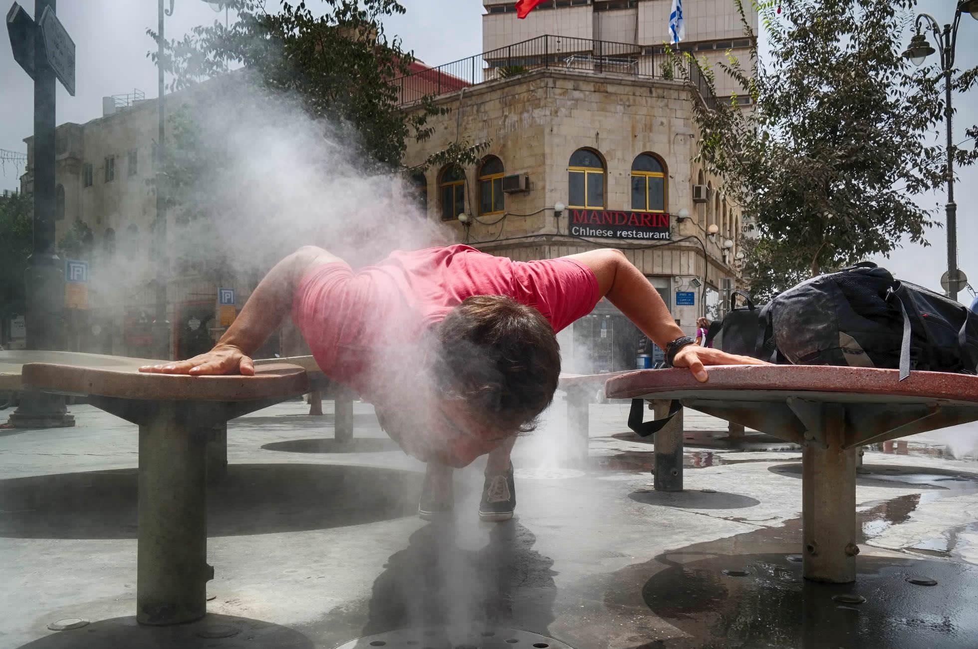 Wasserdüsen Jerusalem