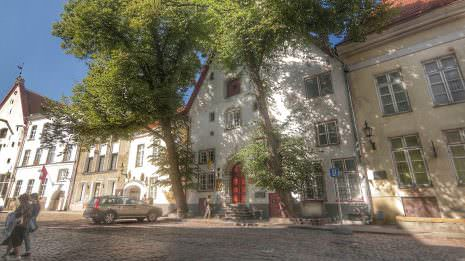 Alte Häuser Tallinn