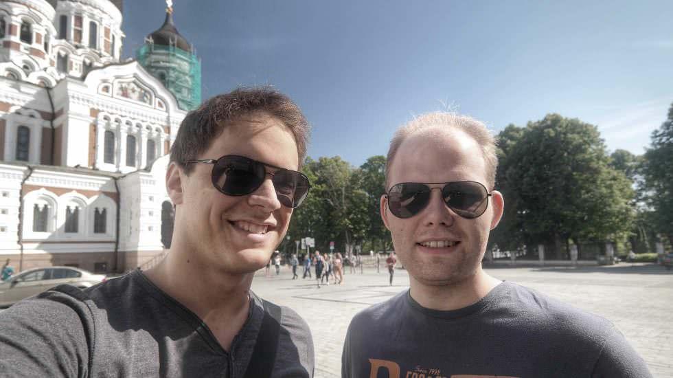 Selfie in Tallinn