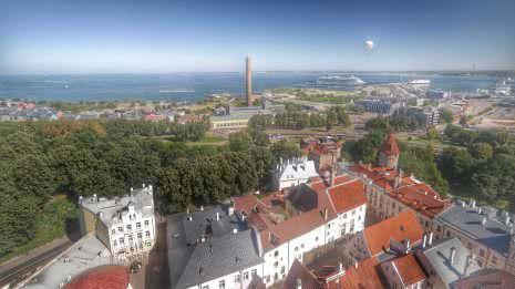 Altstadt Tallinn Aussicht