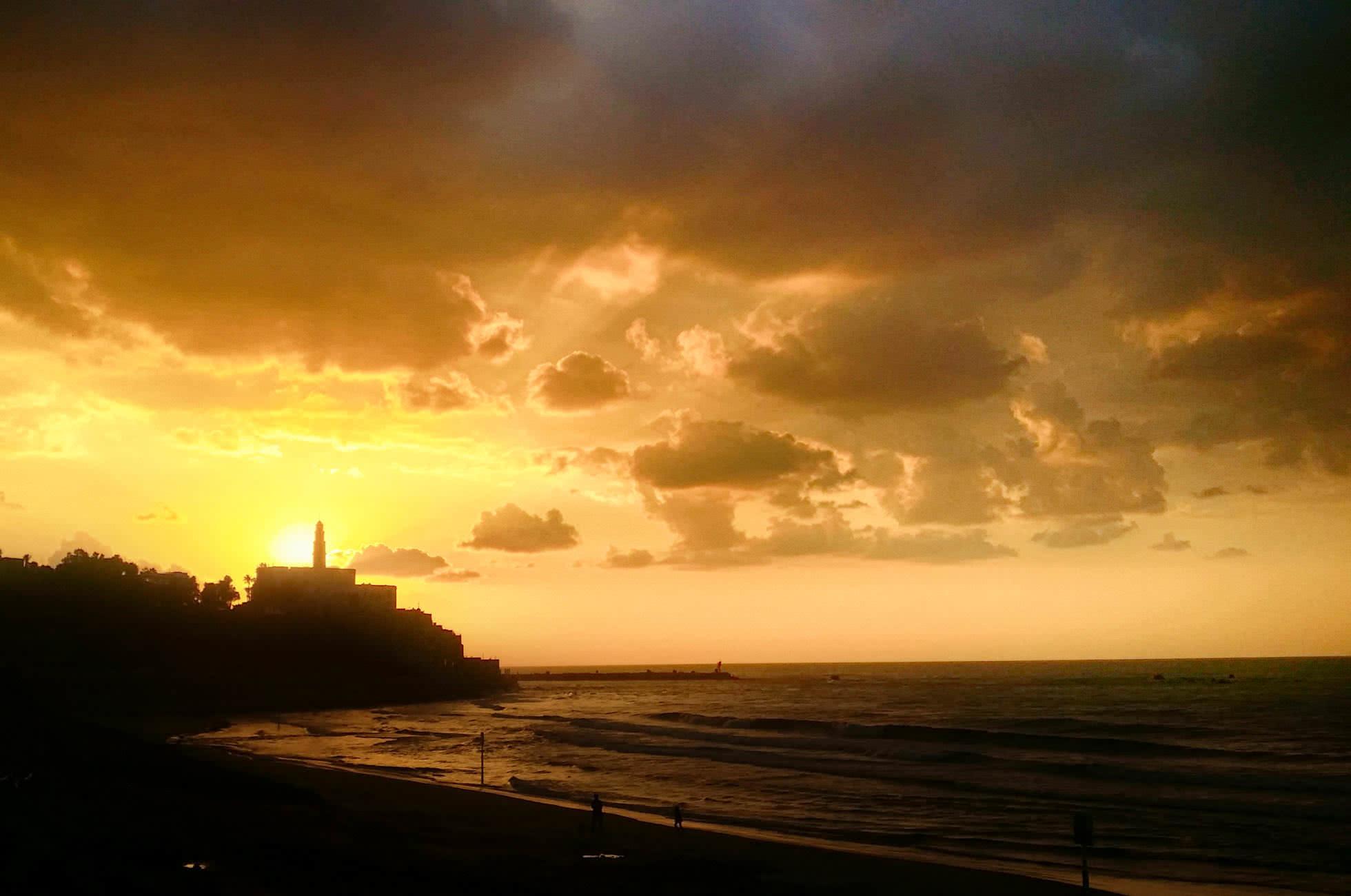 Tel Aviv Sonneuntergang