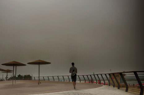 Sandsturm Israel Tel Aviv