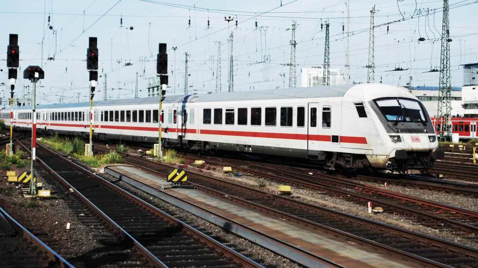 IC der Deutschen Bahn