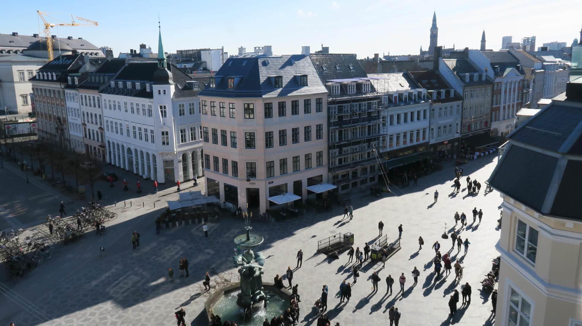Strøget in Kopenhagen