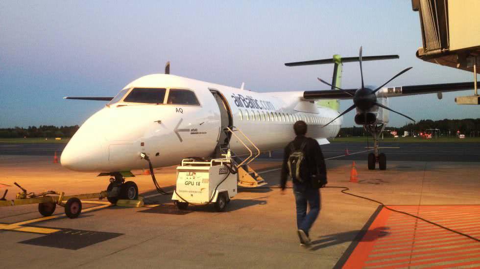 Gepäck im Flugzeug
