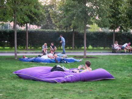 Gorki-Park Wiese
