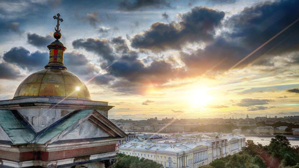 St. Petersburg Aussicht Ausblick