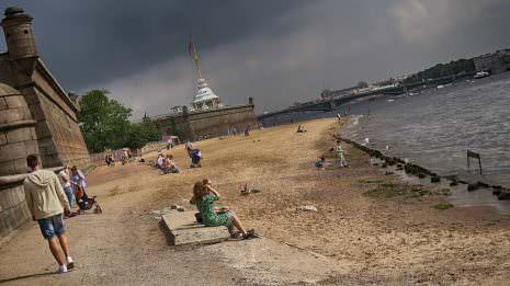 Stadtstrand von St. Petersburg