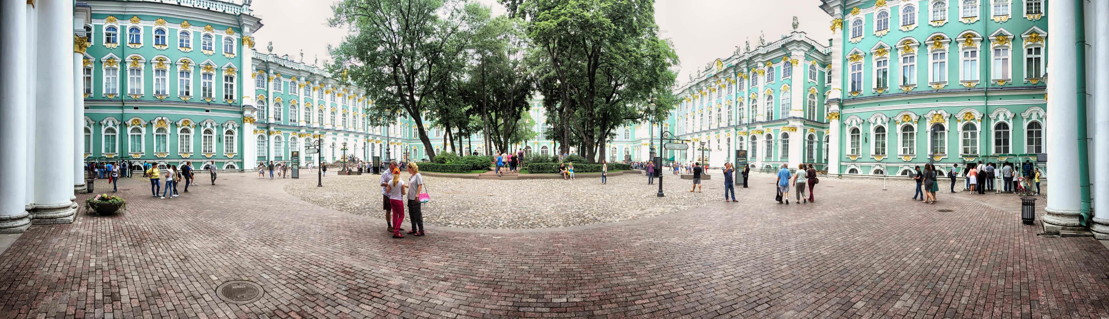 St. Petersburg Winterpalast Innenhof