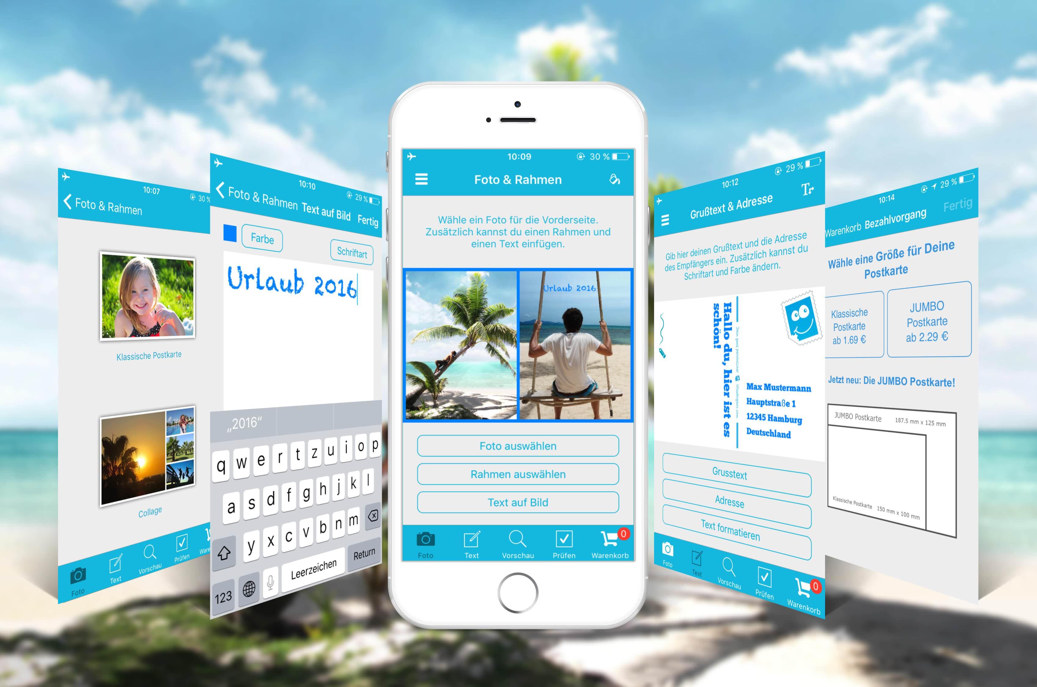 Deine Postkarte per Smartphone verschicken | Ferngeschehen