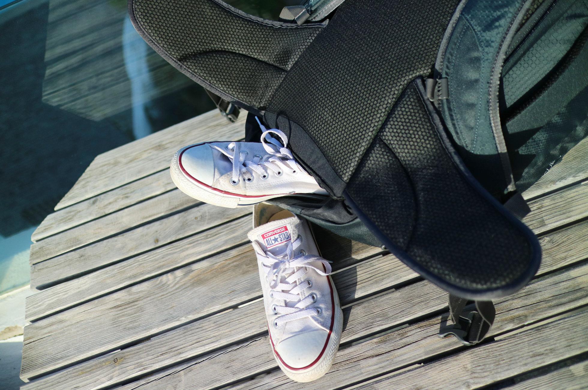 Schuhfach Osprey Farpoint 40