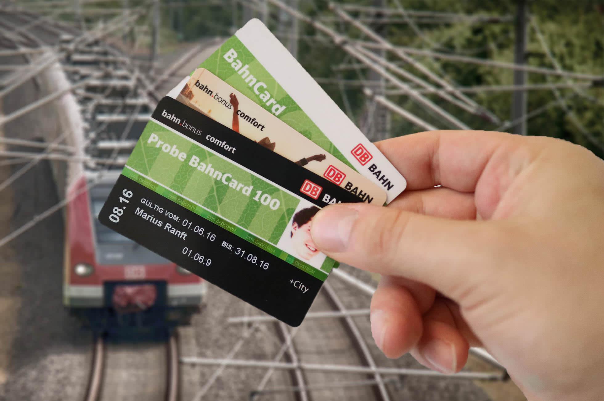 BahnCard 100 My BahnCard