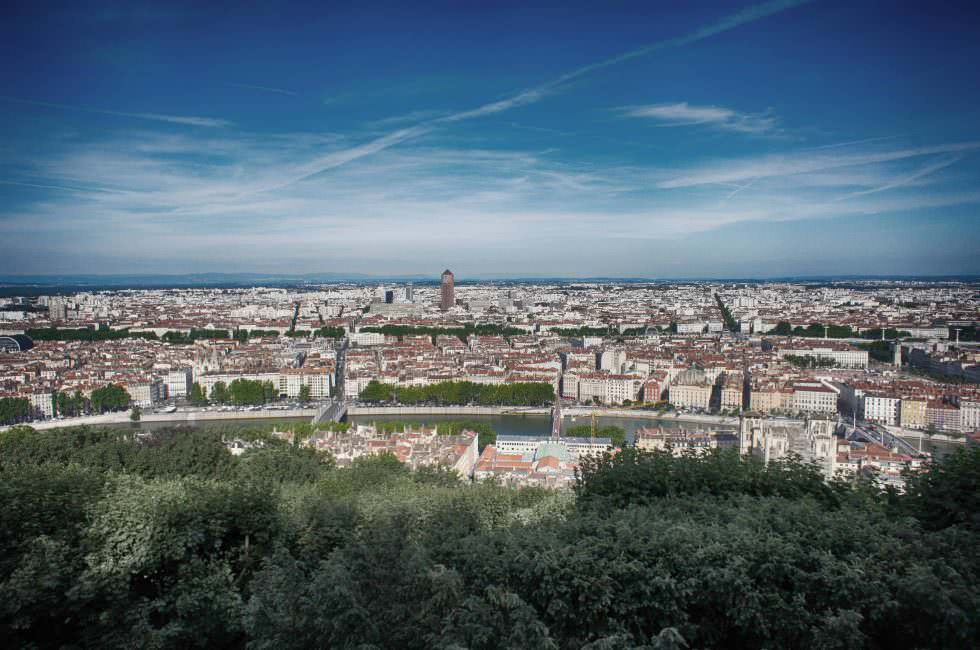 Lyon Aussicht
