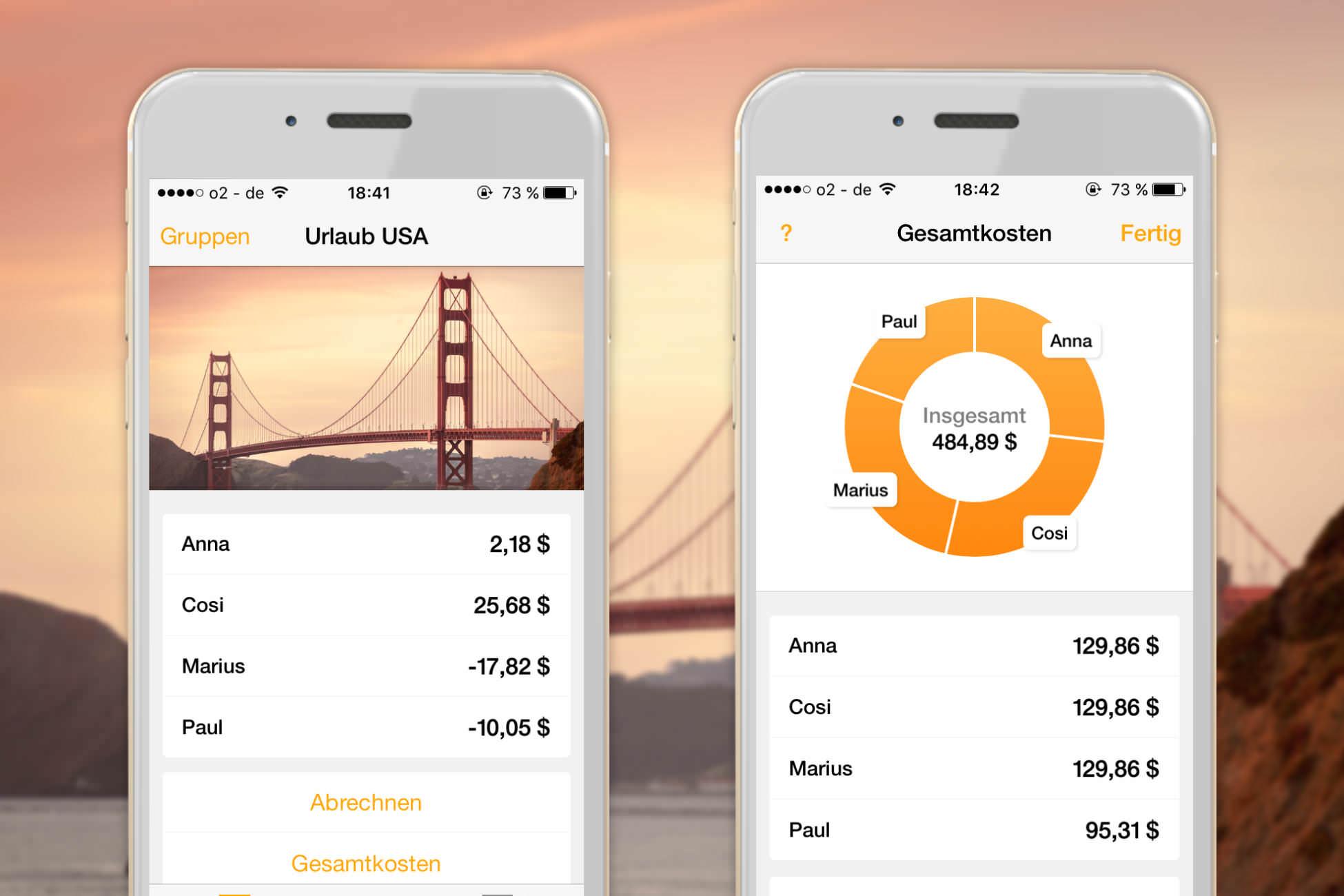 Reisekosten Budget im Blick