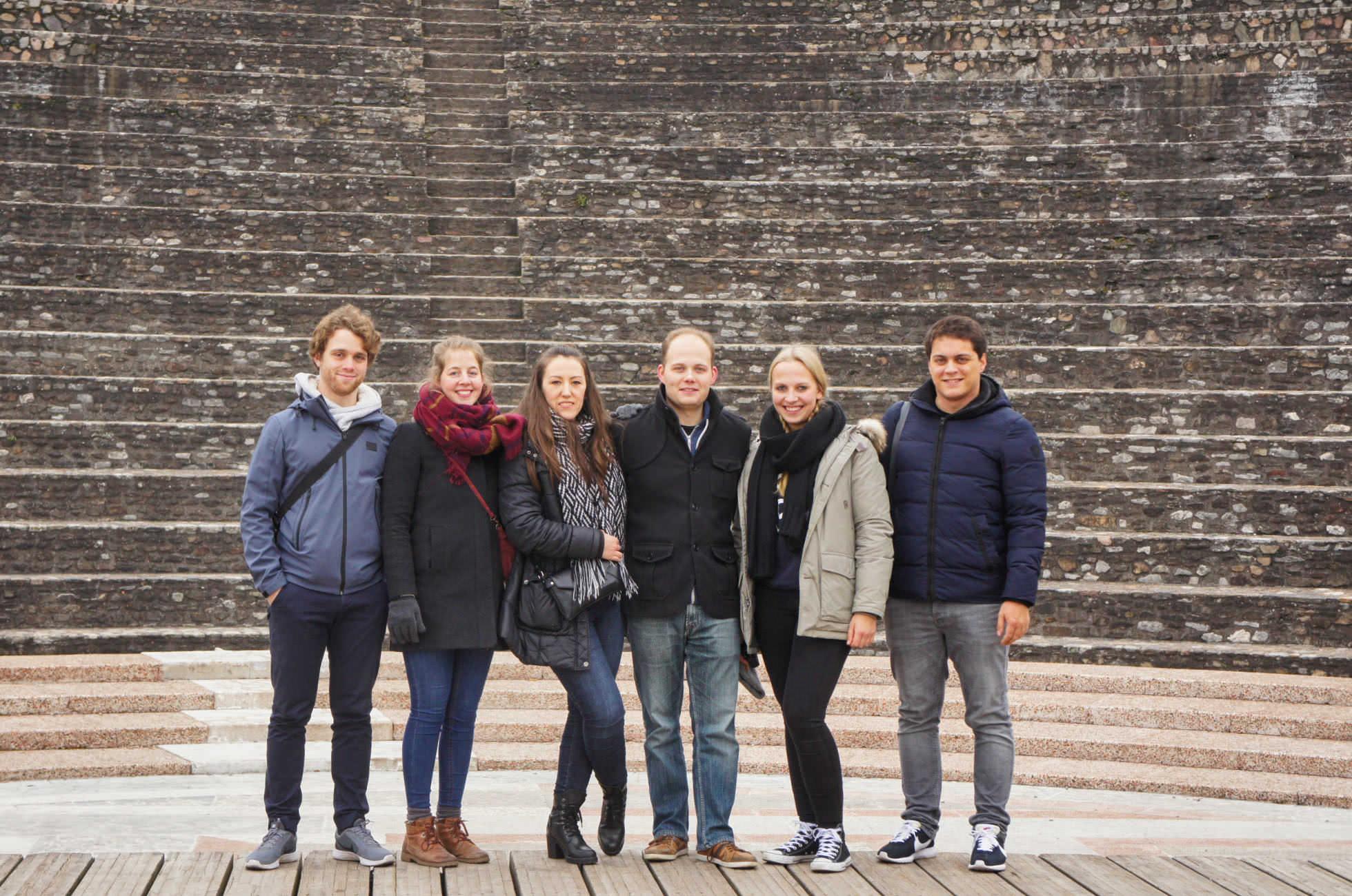 Reisen mit Freunden in Lyon
