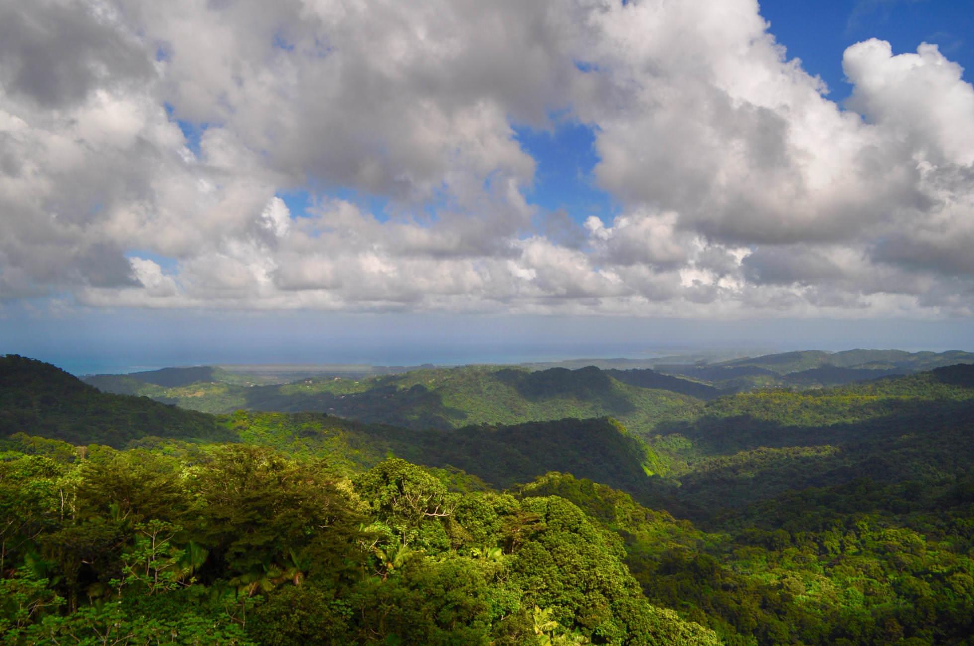 Ausblick Bukit Terisek