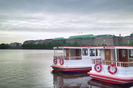 Alsterdampfer Hamburg