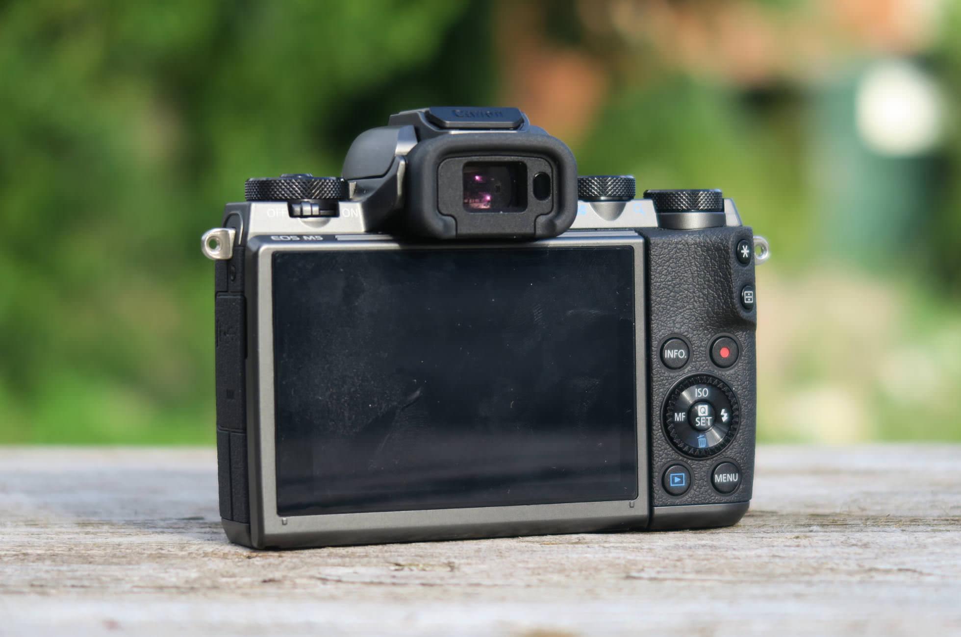 Canon EOS M5 Sucher