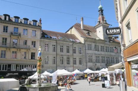 Lausanne Altstadt