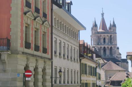 Lausanne Berge