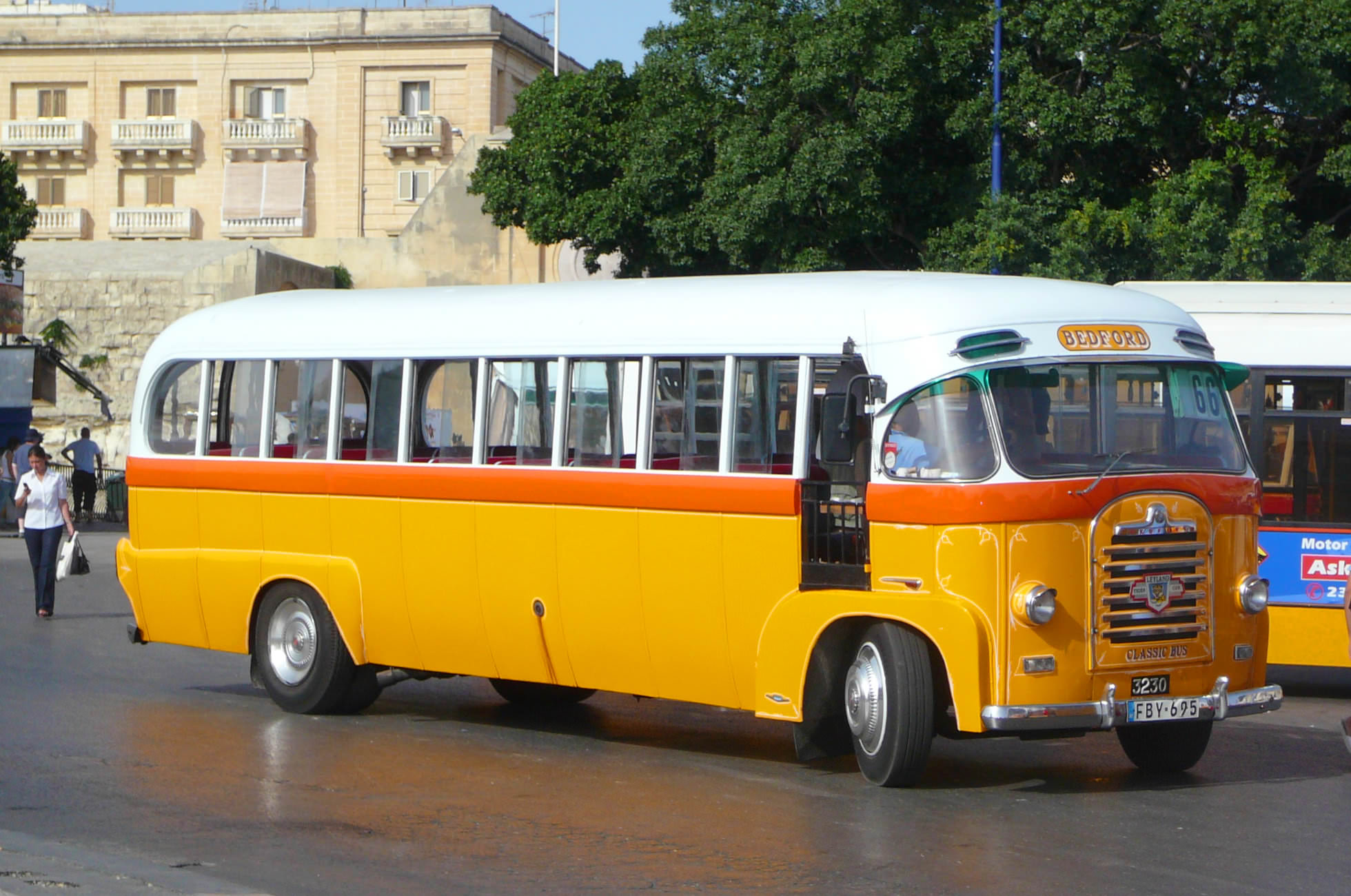 Busfahren auf Malta