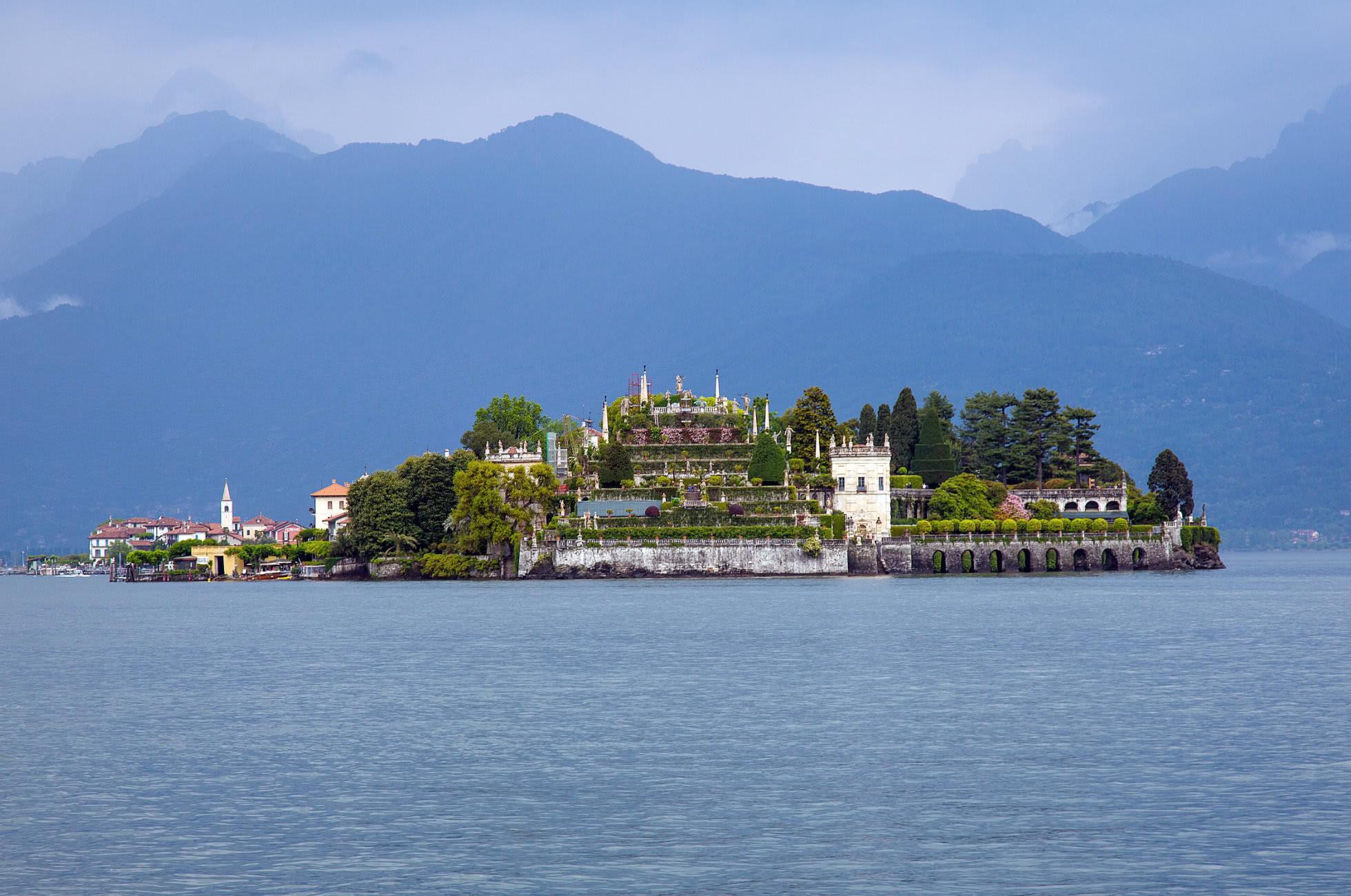 Isola Bella im Maggiore See